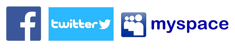 my space vs. Facebook vs. Twitter