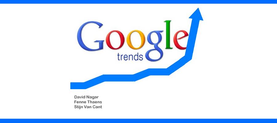 Logo Google tendances - Google trends