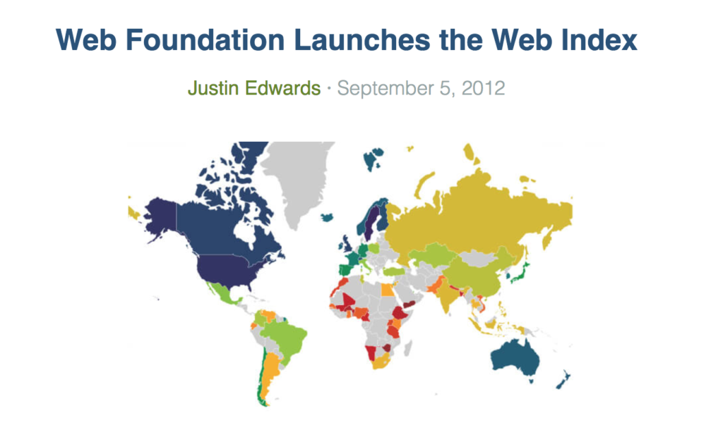 web index