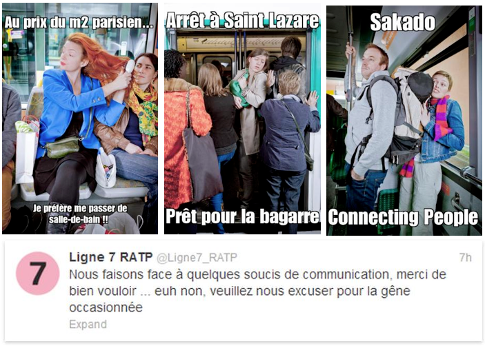 RATP - Hall of meme