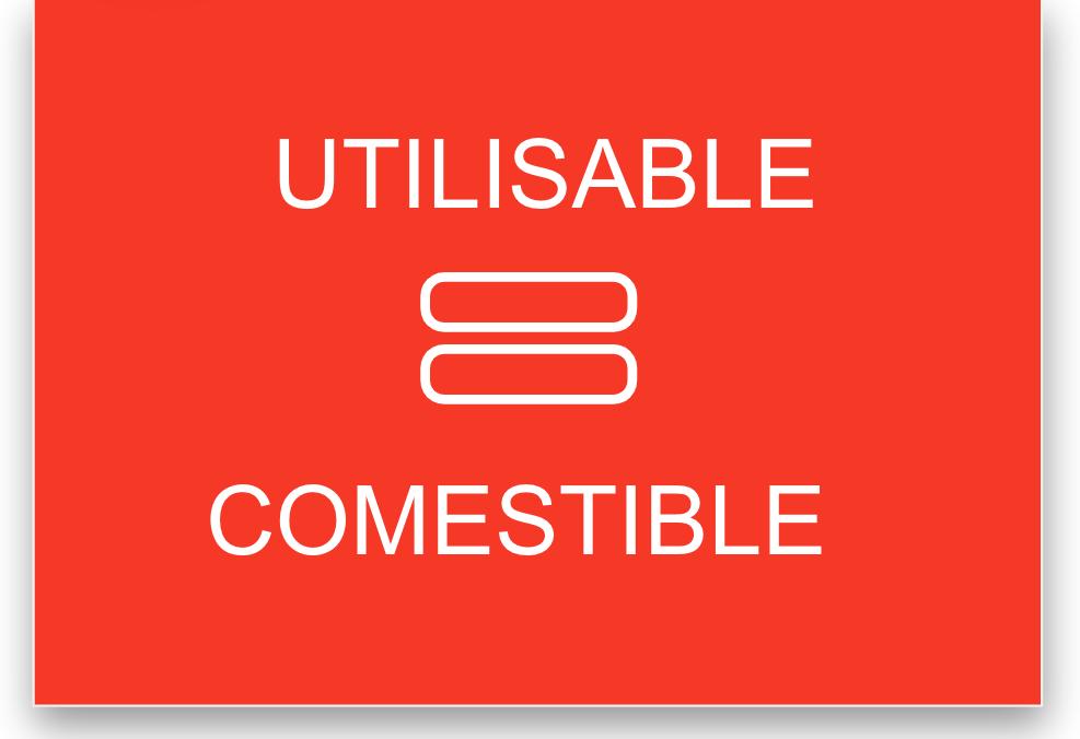 Aaron Walter - Utilisable = comestible