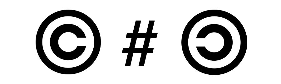 Copyright Copyleft - Logotype
