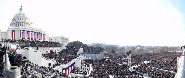 photo investiture d'Obama